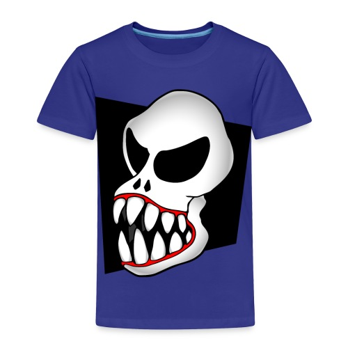 Monster Skull Toddler T - Toddler Premium T-Shirt