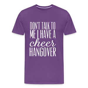 cheer hangover t-shirt - Men's Premium T-Shirt