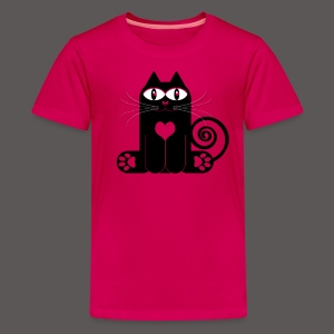 LOVE CAT - Kids' Premium T-Shirt