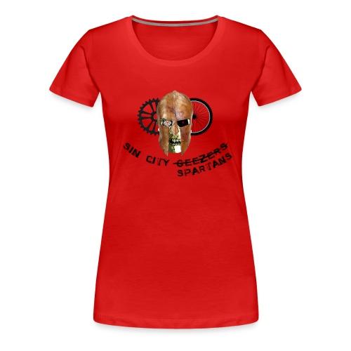 Womens Spartan Shirt - Women's Premium T-Shirt