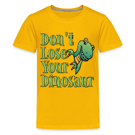 Kids' Shirts ~ Kids' Premium T-Shirt ~ Don't Lose Your Dinosaur Stepbrothers