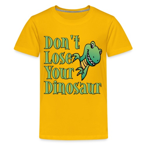 Don't Lose Your Dinosaur Stepbrothers - Kids' Premium T-Shirt