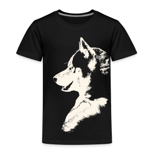 Baby Husky Shirt Toddler Husky Malamute Shirt - Toddler Premium T-Shirt