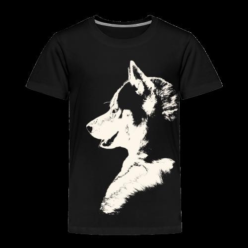Baby Husky Shirt Toddler Husky Malamute Shirt - Toddler Premium T-Shirt