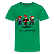 Kids' Shirts ~ Kids' Premium T-Shirt ~ Happy Holidays!