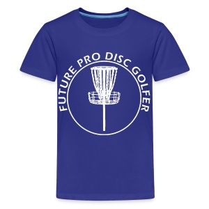 Future Pro Disc Golf Kid's Shirt  - Kids' Premium T-Shirt
