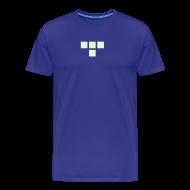 T-Shirts ~ Men's Premium T-Shirt ~ TRON classic (glow)