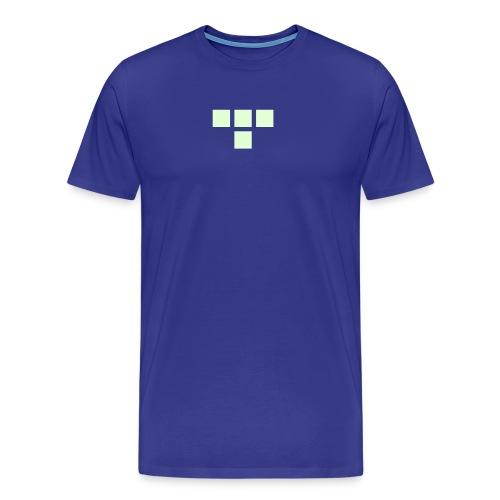 TRON classic (glow) - Men's Premium T-Shirt