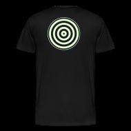 T-Shirts ~ Men's Premium T-Shirt ~ TRON classic disc-only (glow)