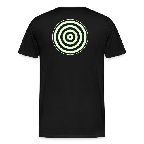 TRON classic disc-only (glow) - Men's Premium T-Shirt