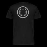 T-Shirts ~ Men's Premium T-Shirt ~ TRON legacy disc-only (silver)