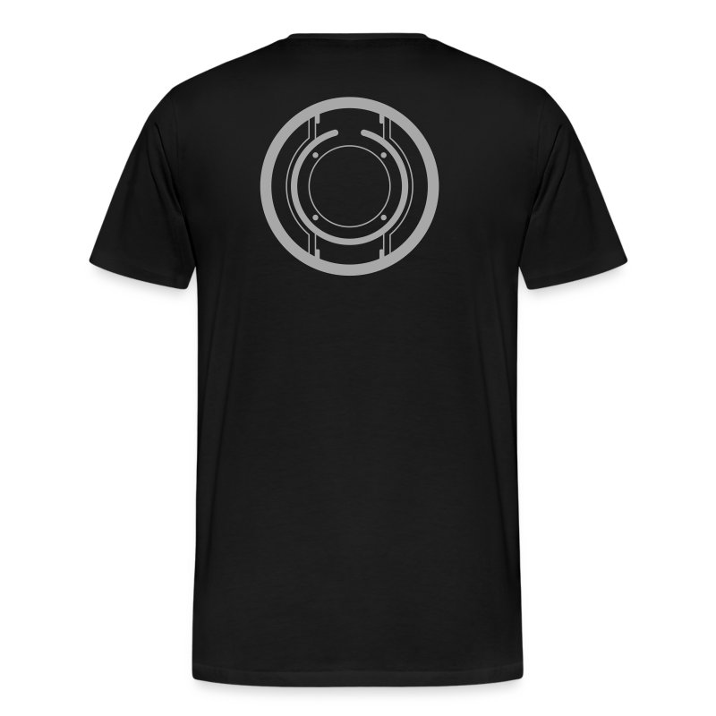TRON legacy disc-only (silver) - Men's Premium T-Shirt