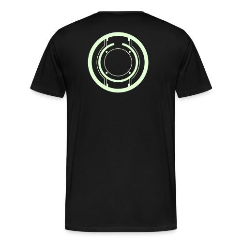 TRON legacy (glow) - Men's Premium T-Shirt