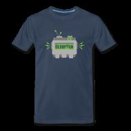 T-Shirts ~ Men's Premium T-Shirt ~ BebopVox Robot Head