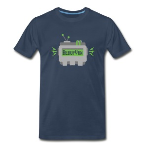 BebopVox Robot Head - Men's Premium T-Shirt