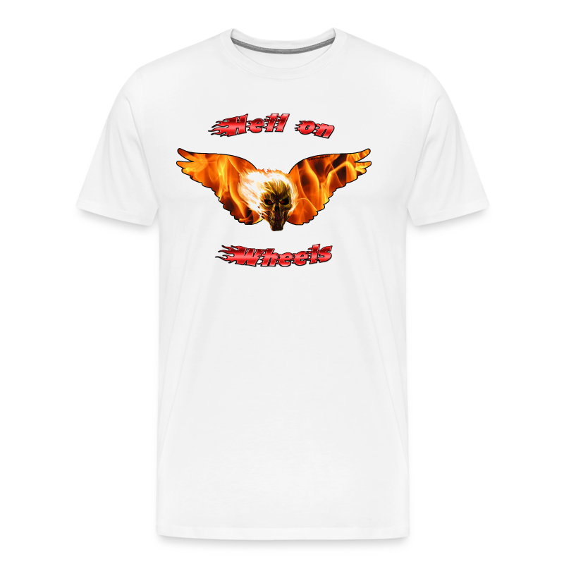 Mens Premium T Hell on Wheels (Front) - Men's Premium T-Shirt