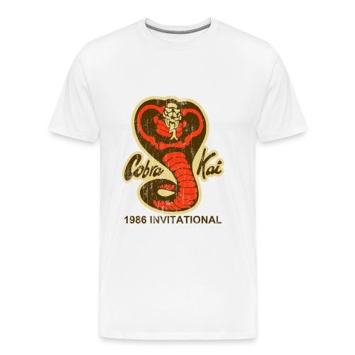 Men's Classic-cut shirt Cobra Kai 1986 Invitational | Major Tees - Men's Premium T-Shirt