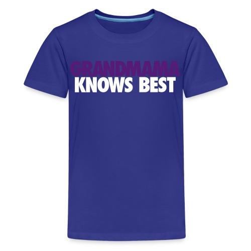 KIDS GRANDMAMA KNOWS BEST LJ2 - Kids' Premium T-Shirt