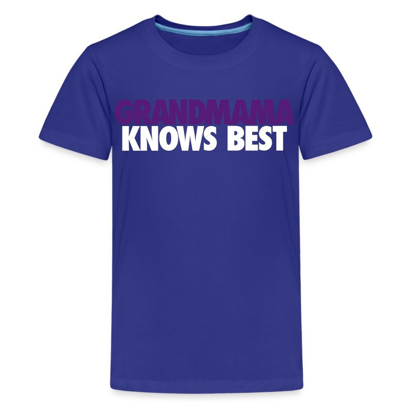 KIDS GRANDMAMA KNOWS BEST LJ2 - Kids' Premium T-Shirt