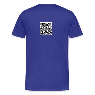 T-Shirts ~ Men's Premium T-Shirt ~ QR Code Mens Plus Size T-shirt