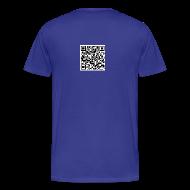 T-Shirts ~ Men's Premium T-Shirt ~ QR Code Mens Plus Size T-shirt