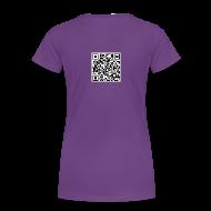 Women's T-Shirts ~ Women's Premium T-Shirt ~ QR Code Womens Plus Size T-shirt