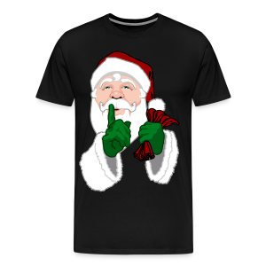 Santa Clause T-shirts Men's Sm to 5XL Christmas Shirts - Men's Premium T-Shirt