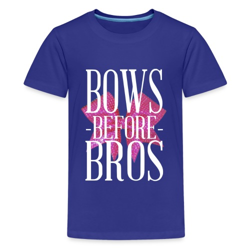 Bows before Bros kids t shirt - Kids' Premium T-Shirt