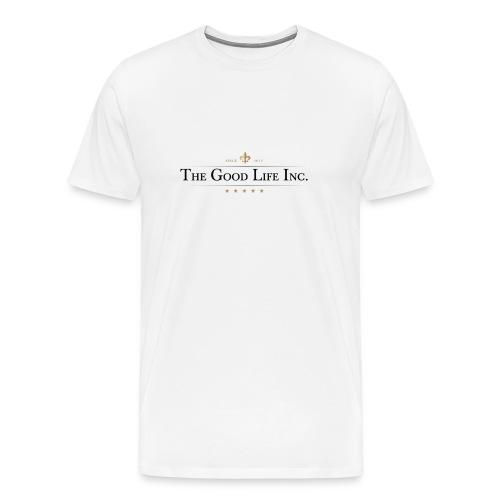 The Good Life Inc. Men's Heavyweight T-Shirt - Men's Premium T-Shirt