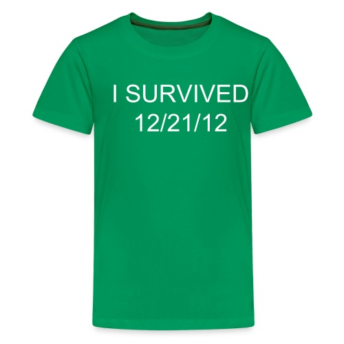 I SURVIVED 12/21/12 shirt - Kids - Kids' Premium T-Shirt