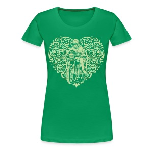 Motorcycle Hear Plus - Women's Premium T-Shirt