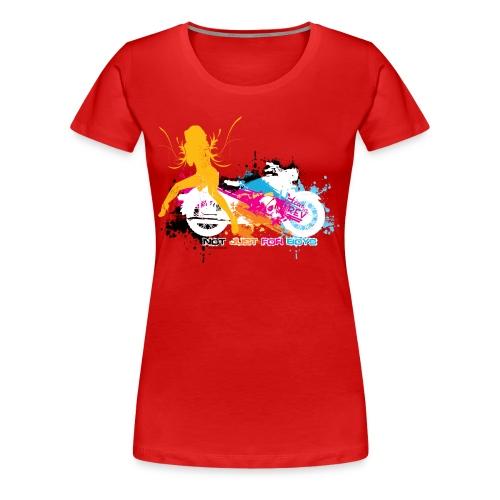 Not Just for Boys Plus - Women's Premium T-Shirt