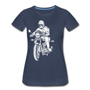 Motorcycle Rider Plus - Women's Premium T-Shirt