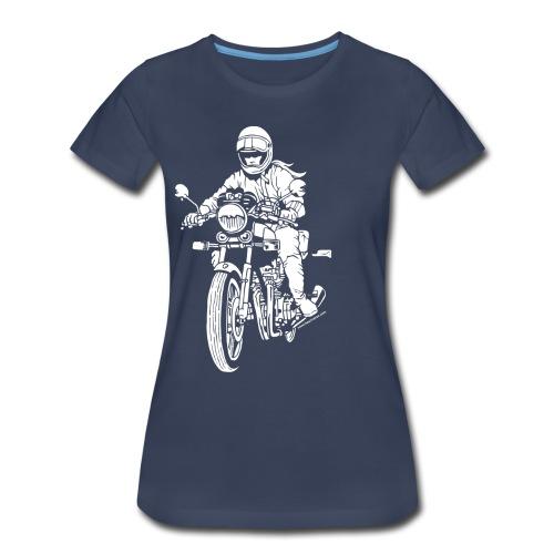 Motorcycle Rider Plus - Women's Premium T-Shirt