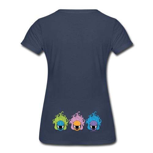 Helmets on Back! - Women's Premium T-Shirt