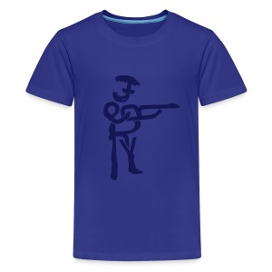 Jerry Garcia in Type - Kids' Premium T-Shirt