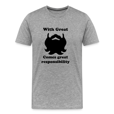beard moustache T-Shirts
