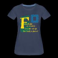 Women's T-Shirts ~ Women's Premium T-Shirt ~ Friends are treasures