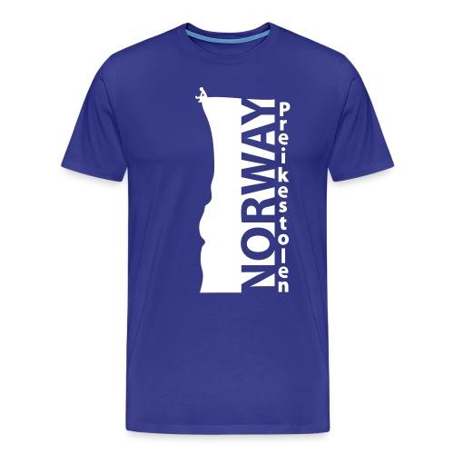 Preikestolen NORWAY HQ. Cliff Ed. SERIES - Men's Premium T-Shirt