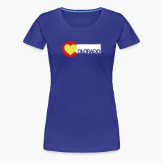 Love Colorado Women's T-Shirts