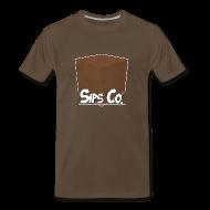 T-Shirts ~ Men's Premium T-Shirt ~ Sipsco Dirt for Men