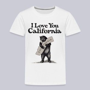 I Love You CA - Toddler Premium T-Shirt