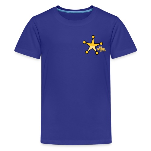 DEPUTIZED! One-eyed Clyde T-shirt - Kids' Premium T-Shirt