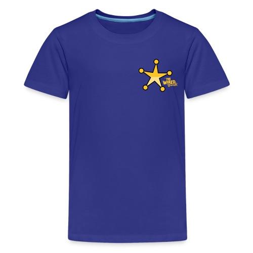 DEPUTIZED! One-eyed Clyde T-shirt - Kids' Premium T-Shirt