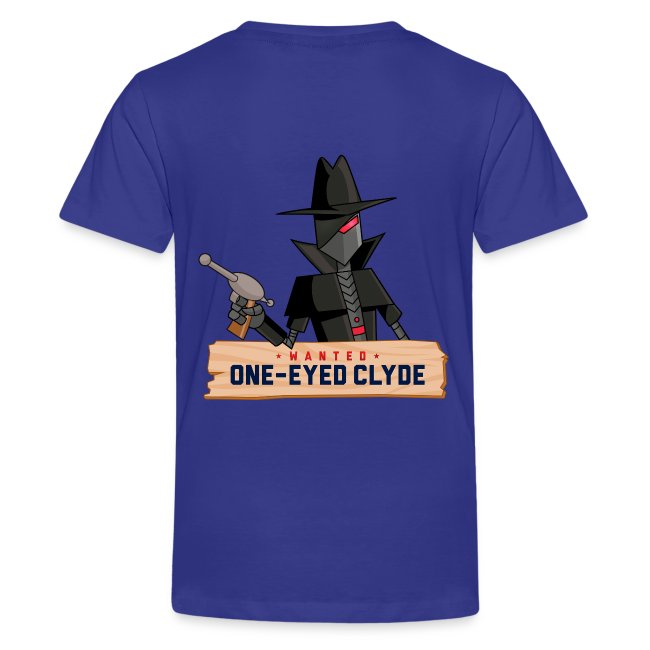 DEPUTIZED! One-eyed Clyde T-shirt