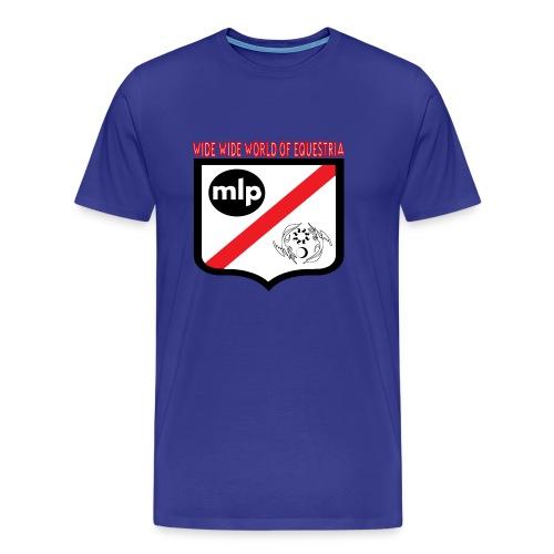 Wide Wide World Of Equestria - Men's Premium T-Shirt