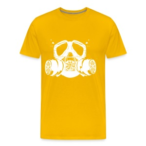 gas mask - Men's Premium T-Shirt