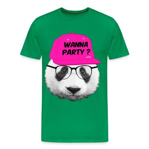 Wanna Party - Men's Premium T-Shirt