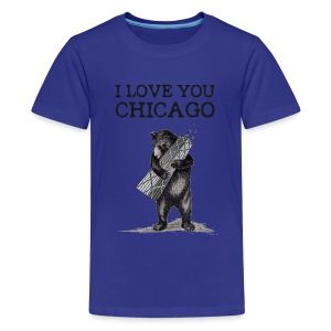 I Love You Chicago - Kids' Premium T-Shirt