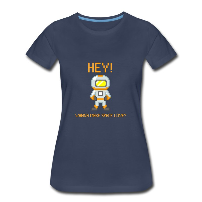 Space Love (Women) - Women's Premium T-Shirt